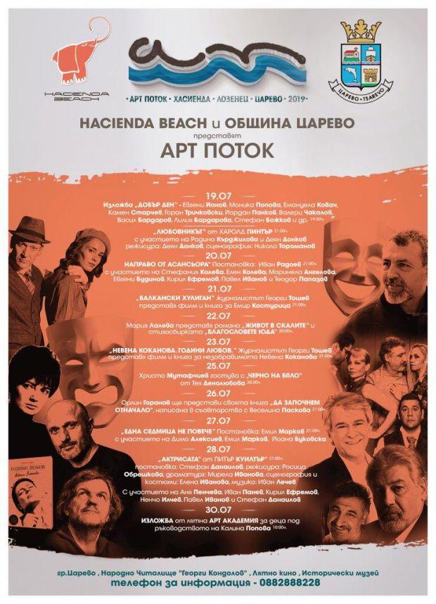 """артпоток - Фестиваль """"Арт Поток-2019"""" на десять дней завладеет южным побережьем Черного моря"""